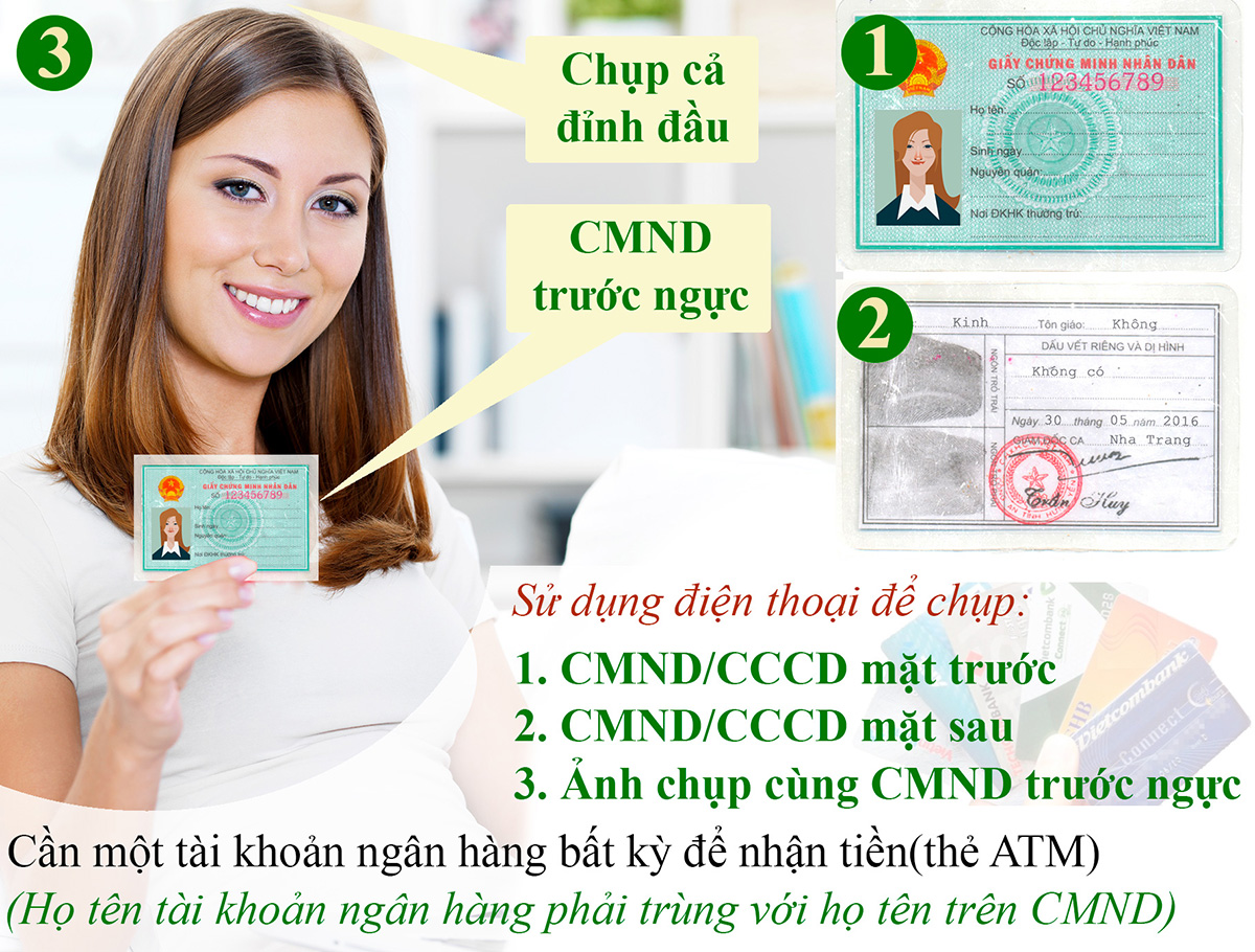 Conditions for borrowing money by ID card