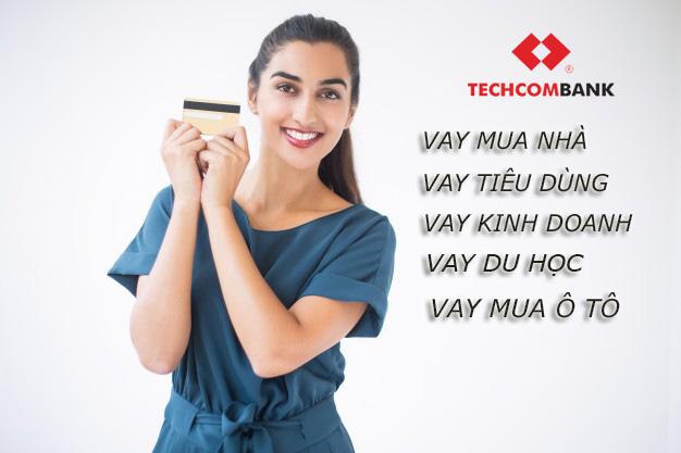 Hướng dẫn vay tiền Techcombank tháng 4/2021